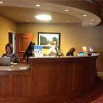 The Penn Stater Registration Desk